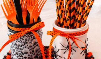 Halloween Party Mason Jars