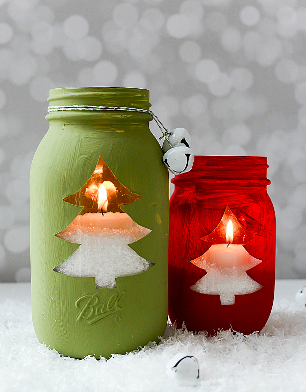 christmas jar craft ideas
