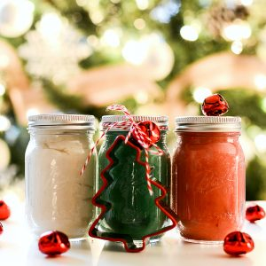Stocking Stuffer Ideas: Mini Mason Jar Christmas Clay Dough