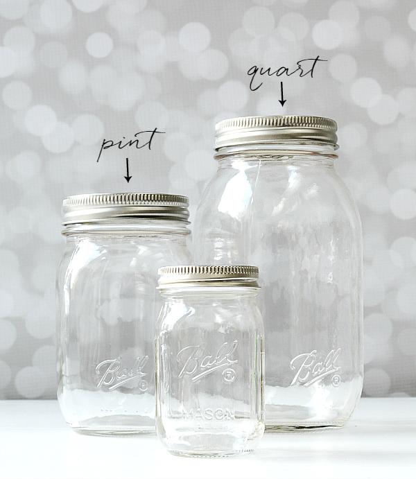 4 ounce mason jar