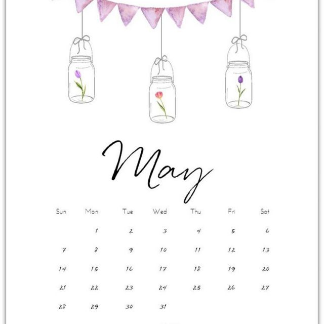 may calendar page freecalendar page to download masonjar calendarpage linkhellip