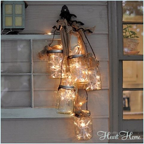 masonjar lights from allthingsheartandhome masonjardecor masonjarlights