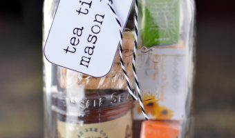 Mother's Day Tea Time Mason Jar Gift