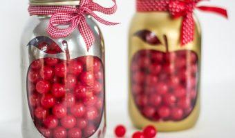 Apple Mason Jar Teacher Gift