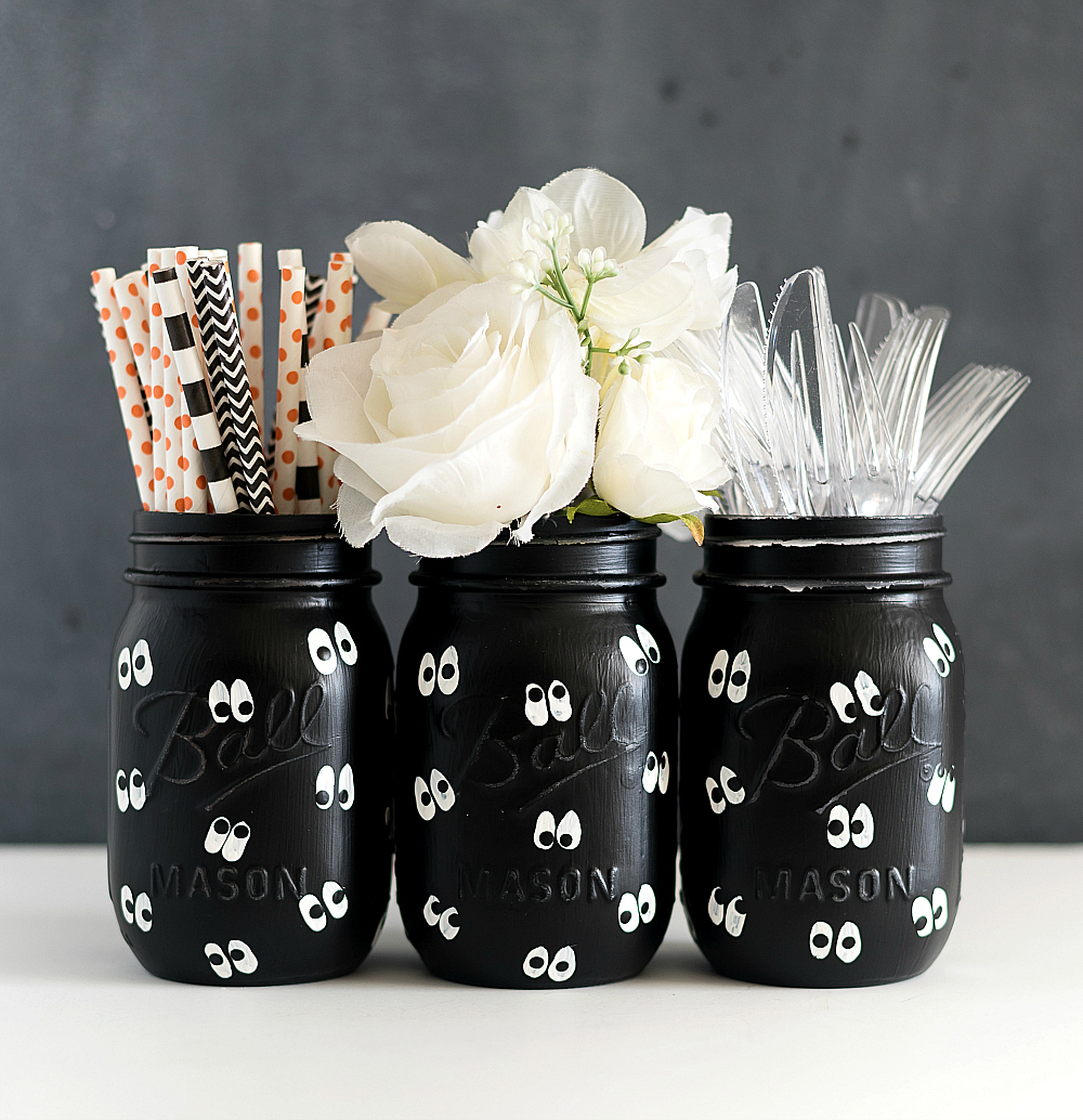 Halloween Crafts for Kids - Mason Jar Crafts for Halloween