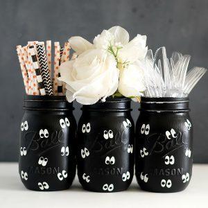 Halloween Crafts for Kids - Mason Jar Crafts for Halloween