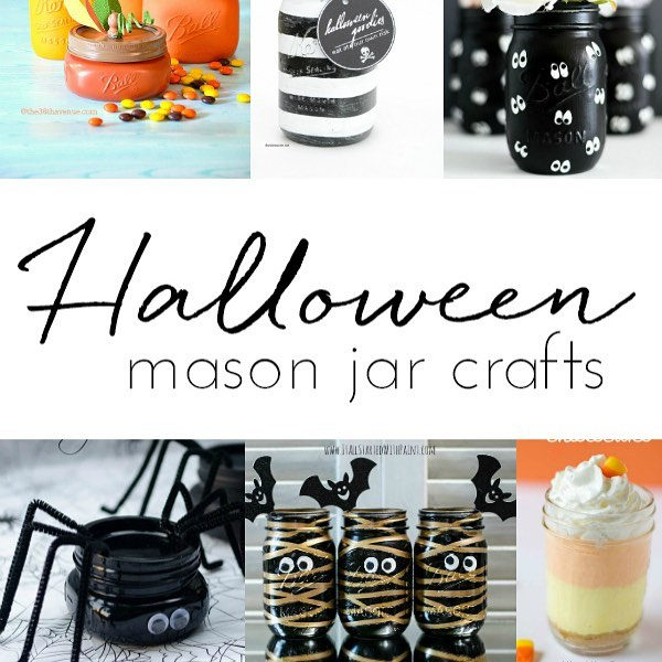 45 Halloween mason jar crafts to choose from on thehellip