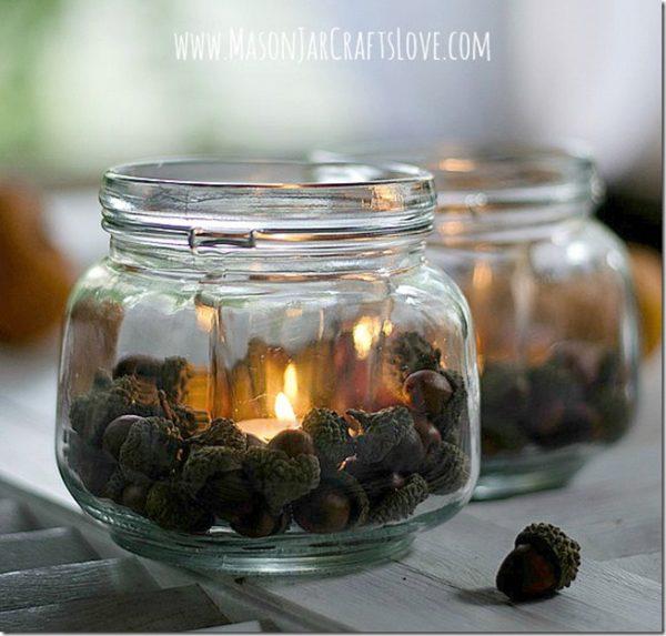 Acorn-Mason-Jar-Votive