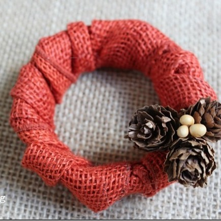 masonjar canninglid fall mini wreath from rusticpigdesigns