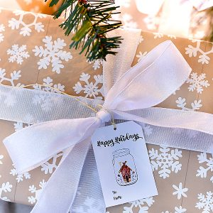 Mason Jar Christmas … and Holiday … Gift Tags