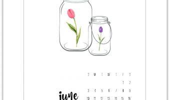 June Calendar Page 2018