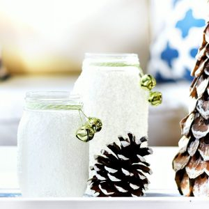 Epsom Salt Holiday Mason Jar