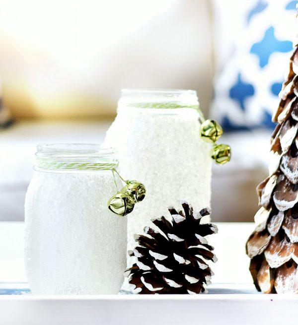 Epsom Salt Mason Jar