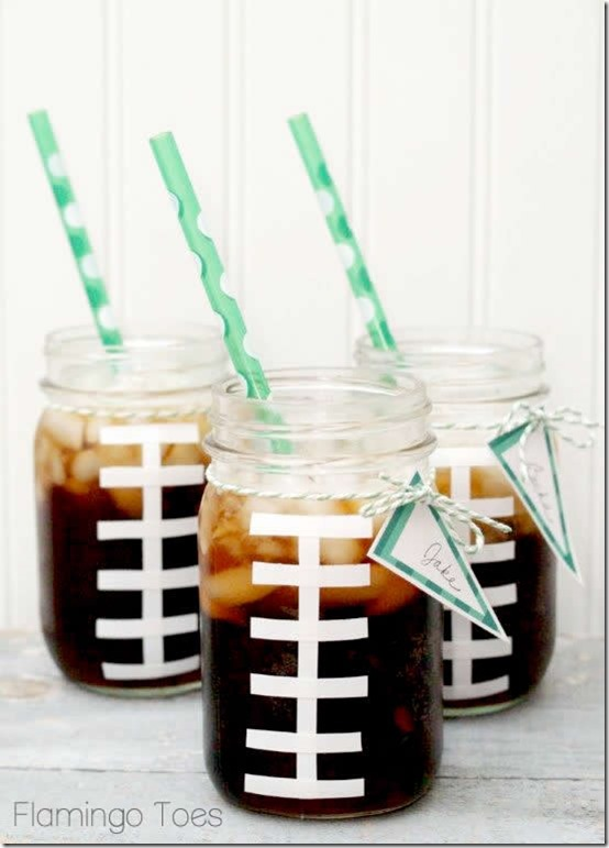 Super Bowl Party Ideas - Football Drink Ideas