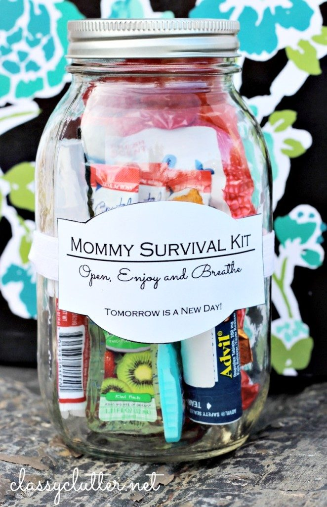 Mother's Day Gift Ideas: Survival Kit