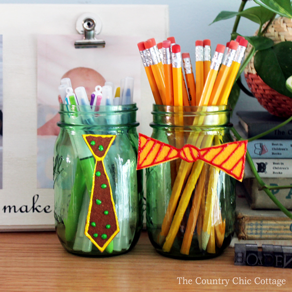 Father's Day Mason Jar kid Craft - Easy Father's Day Craft for kids Ideas