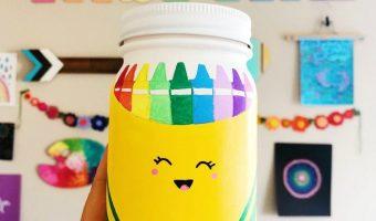 Back To School Mason Jar Craft - Teacher Gift Ideas for Back to School