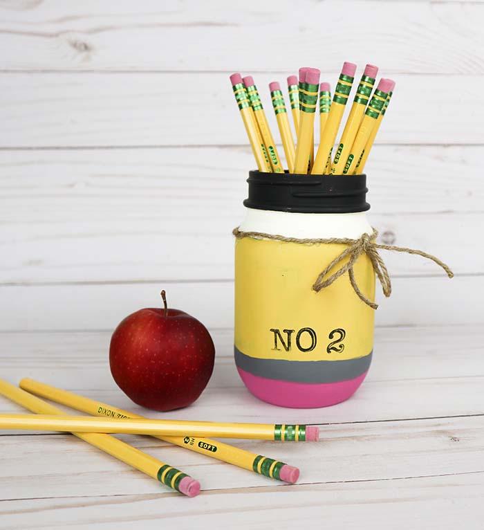 Back To School Mason Jar Craft Ideas Mason Jar Crafts Love