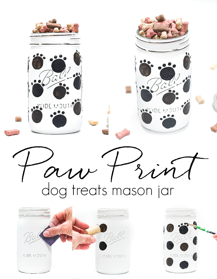 Dog Treat Mason Jar Mason Jar Crafts Love