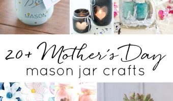 Homemade Mother's Day Gift Ideas in Jars. Mason Jar Mother's Day Gift DIY