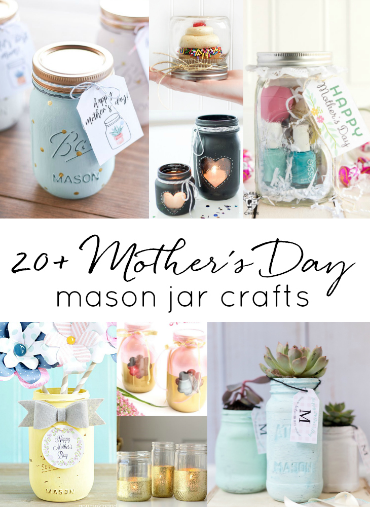 Homemade Mother S Day Gift Ideas In Jars Mason Jar Crafts Love